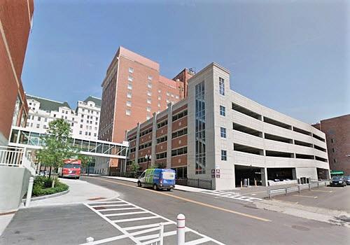 Albany Howard parking garage