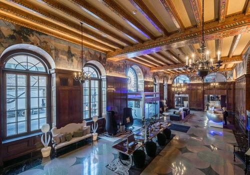 Albany Renaissance hotel interior