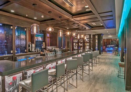 Albany Renaissance hotel interior bar