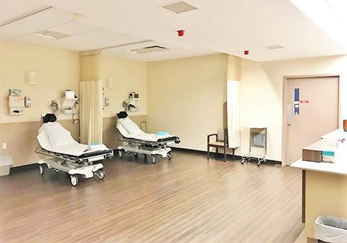 Amsterdam Holland Hospital interior
