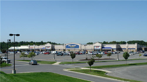 Bethlehem Walmart shopping center
