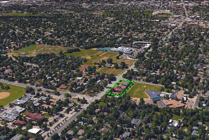 Boulder aerial view