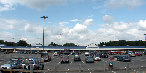 Brunswick shopping center