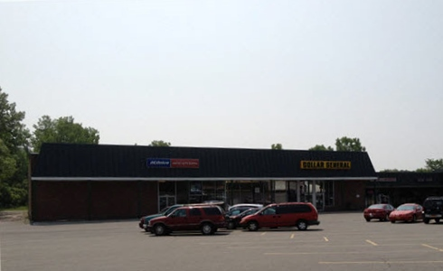 Burnt Hills strip mall