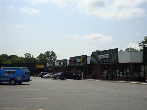 Burnt Hills strip mall