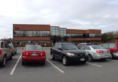 Clifton Park Plank office building