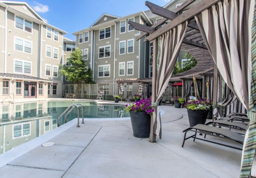 College Park student housing pool