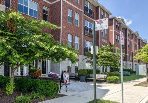 College Park student housing exterior