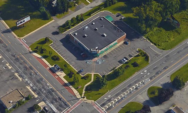 Colonie Walgreens aerial