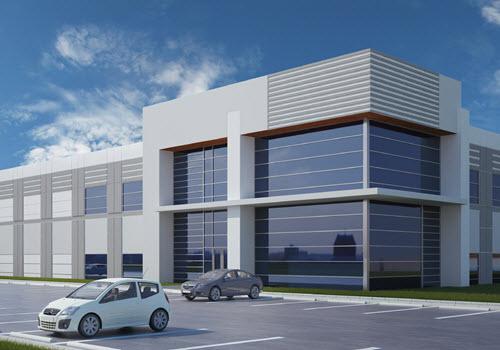 Douglasville industrial building exterior