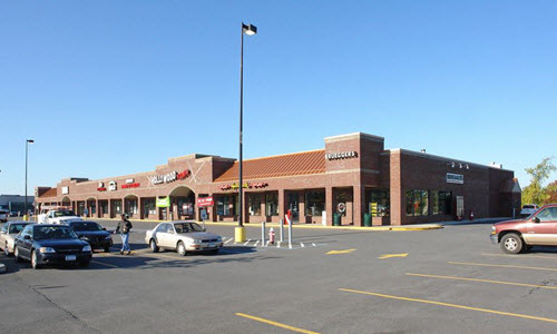 East Greenburg shopping center