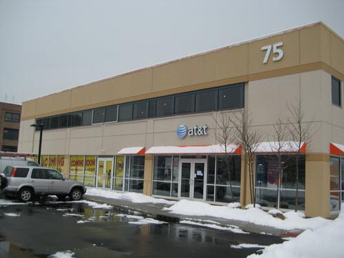 Edgewater retail building