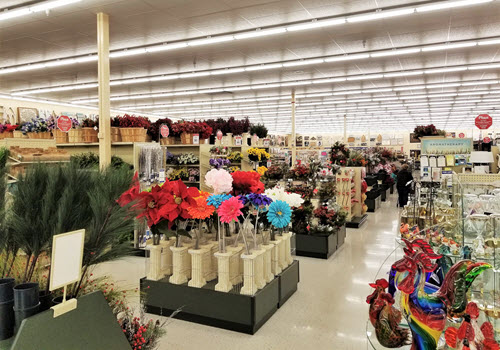 Farmington Hobby Lobby interior