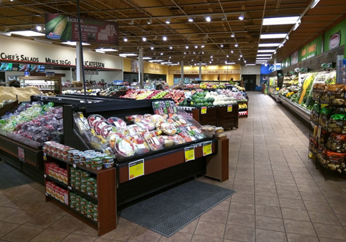 Glenmont Price Chopper interior