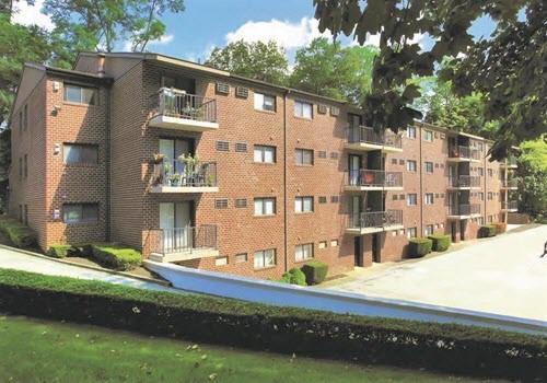Glenolden apartment complex exterior