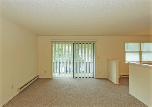 Glenville apartment complex interior