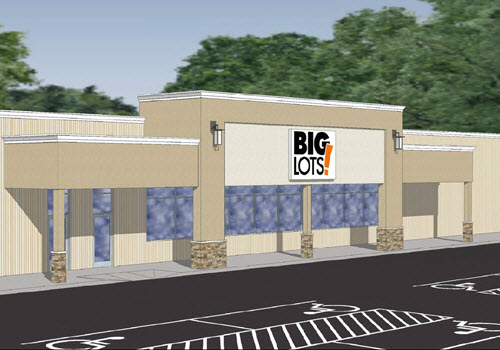 Greenbush shopping center rendering