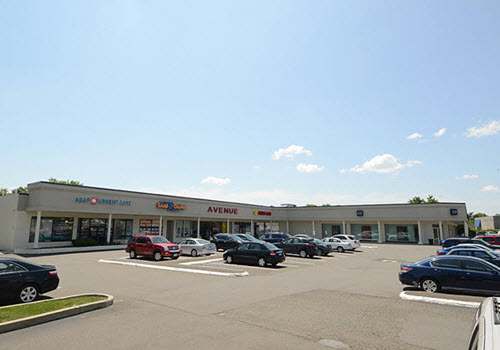 Hamden strip mall