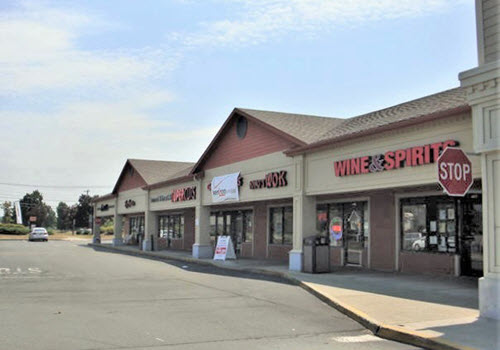 Kinderhook strip mall