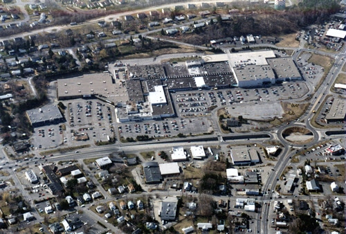 Latham shopping center aerial