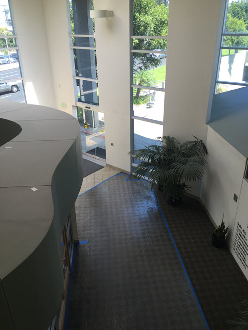 Manhattan Beach medical office building interior