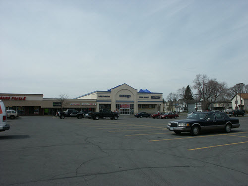 Mechanicville strip mall
