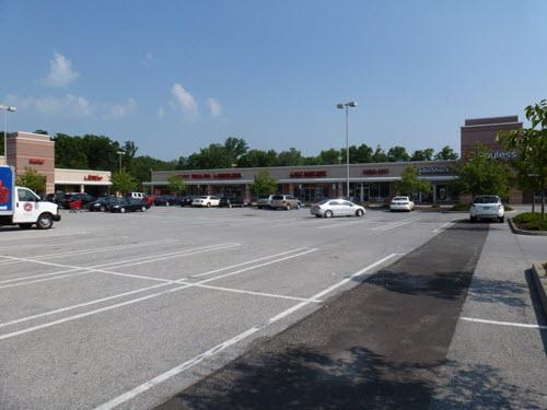 Newburgh strip mall