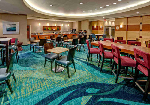 Norfolk hotel dining room