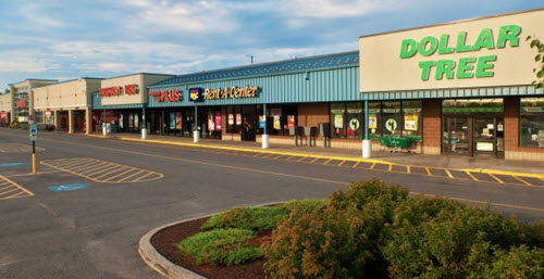 Ogdensburg shopping center