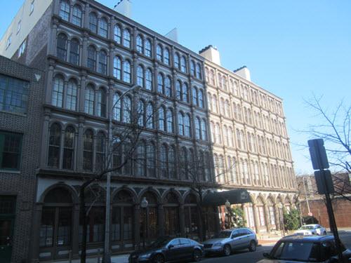 Philadelphia apartment building