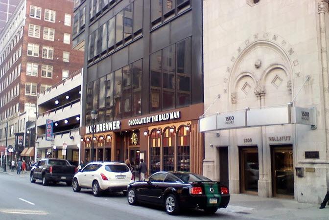 Philadelphia street shops