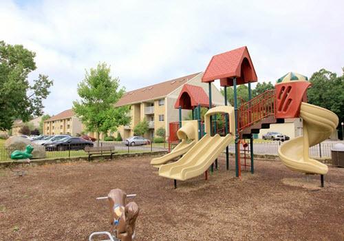 Poughkeepsie Hudson apartments playground