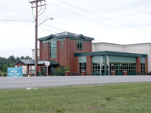 Saratoga office building