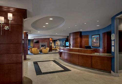 Saratoga Springs hotel lobby