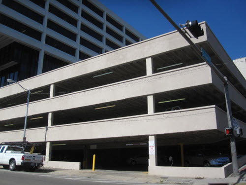 Tallahasse parking garage