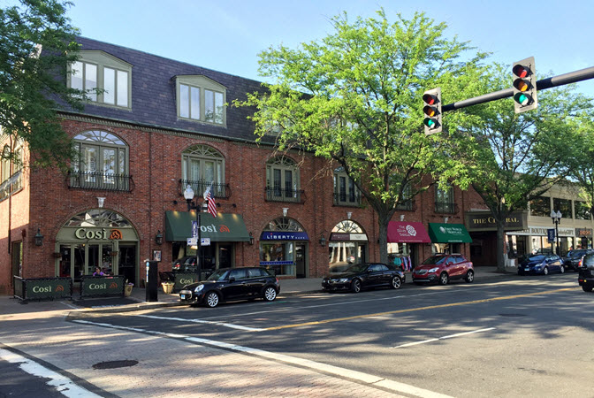 West Hartford street shops