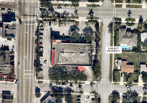 West Palm CVS Pharmacy aerial