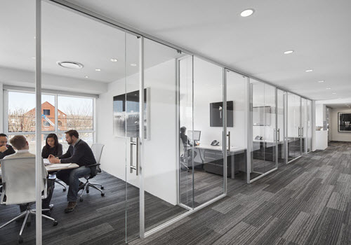 Westport Wilton office building interior