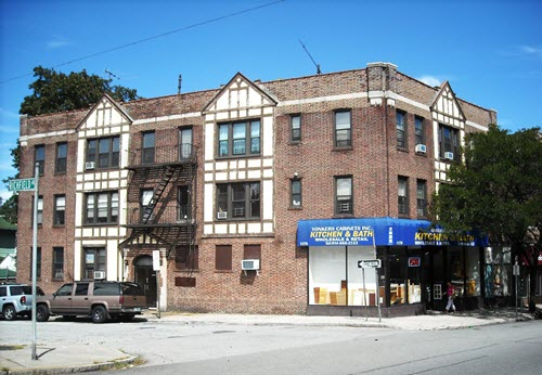 Yonkers apartment building