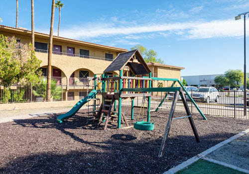 Apartment complex playground, Phoenix, AZ