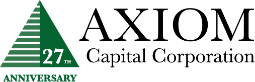 Axiom Capital Corporation 26th Anniversary logo